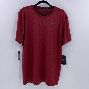 Nike Shirts - Nike Breathe dri fit hyper dry training top mens L